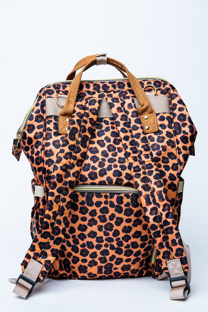 Leopard Nappy Bag