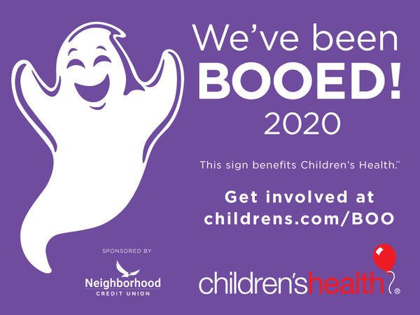 2020 BOO sign
