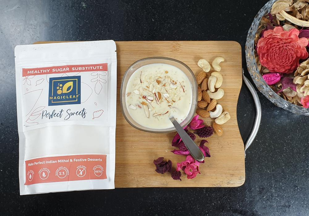 Sugar-Free Kheer with Magicleaf Perfect Sweets - Magicleaf