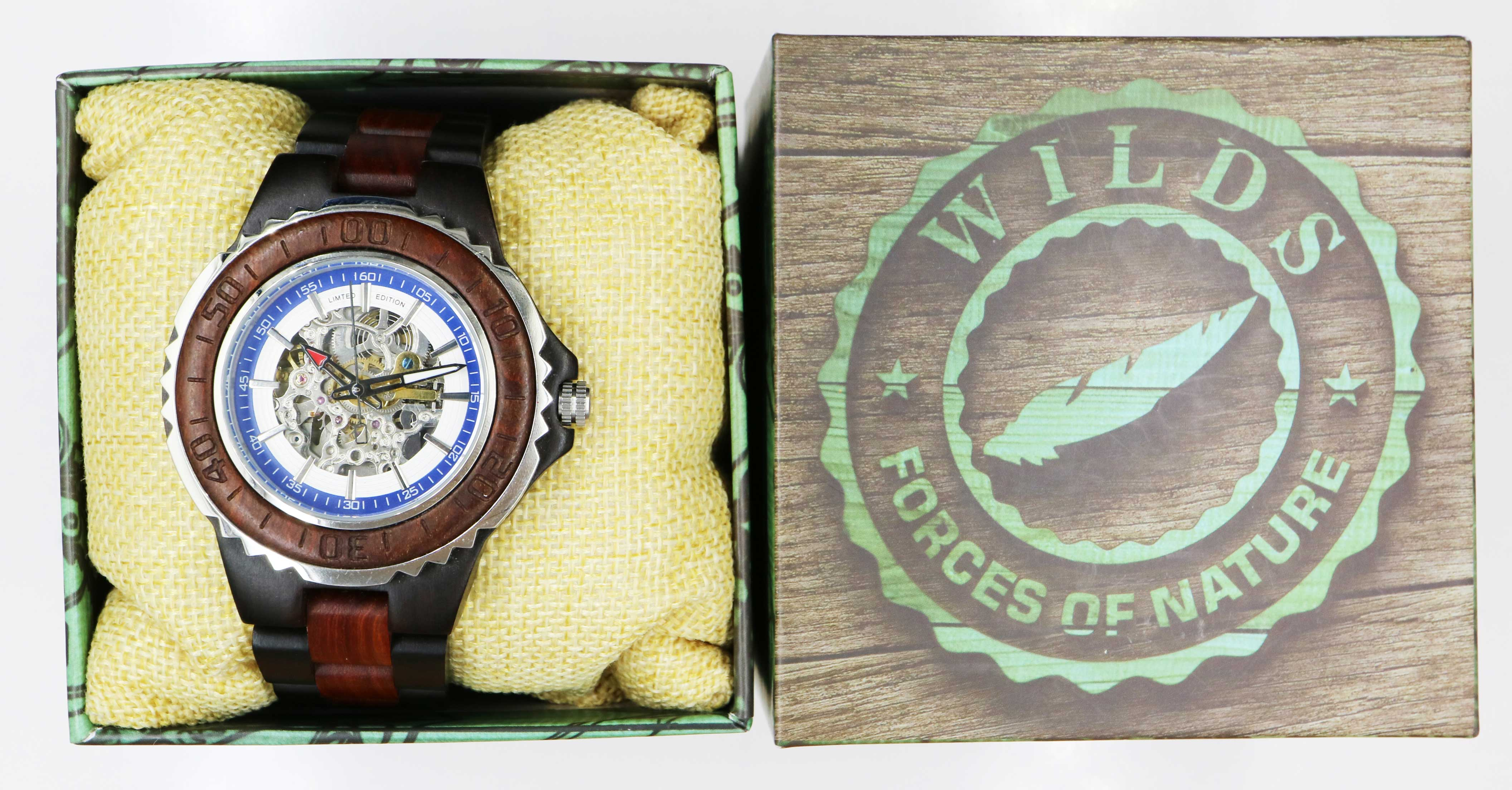 Rose Ebony Wooden Watches