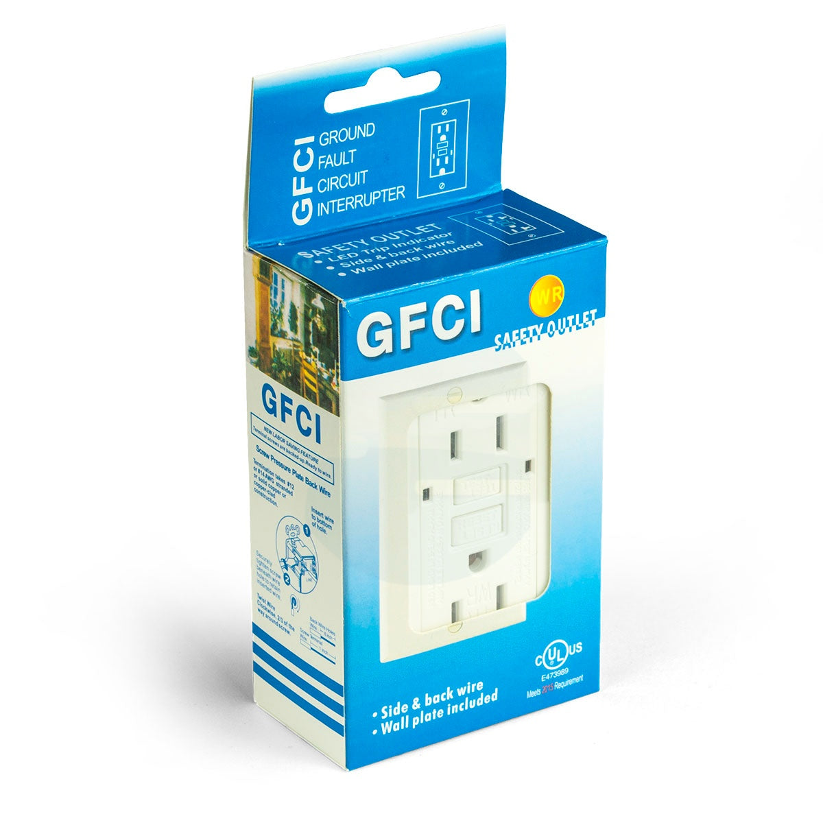 15a Tamper/Weather Proof GFCI Outlet