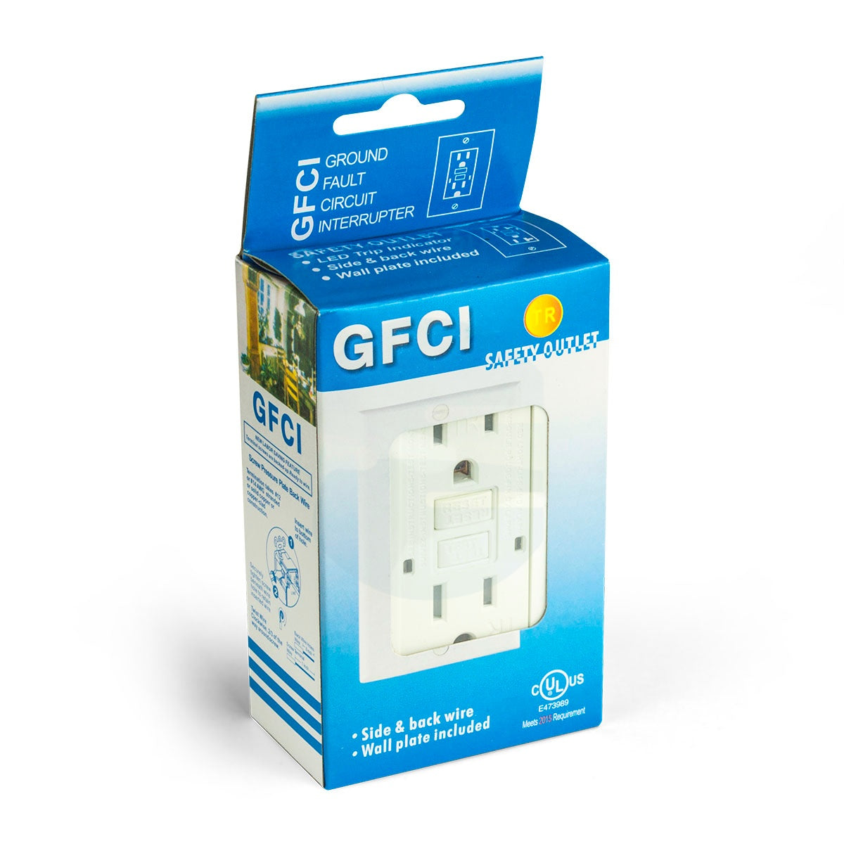 15a Tamper Proof GFCI Outlet