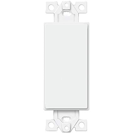 Enerlites Decorator Adapter, 1-Gang Blank