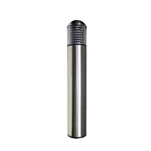 EasyLED Dome Stainless Steel Bollard with Louvers