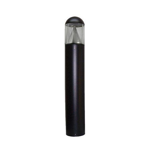 EasyLED Dome Bollard with LED Cone Reflector - Type III