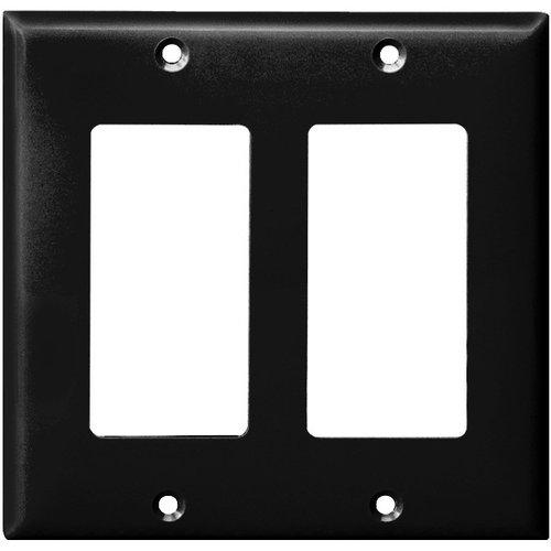 Enerlites Residential Grade, Mid-Size 2-Gang Decorator/GFCI Plate