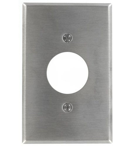 Enerlites Commercial Grade 1-Gang Tl Single Receptacle Plate, 1.620