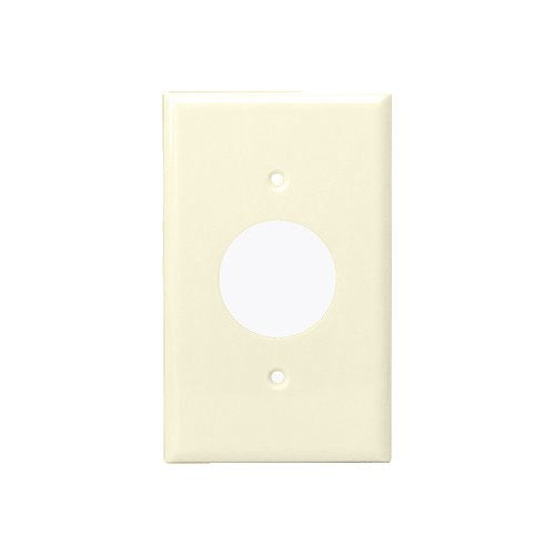 Enerlites Residential Grade, Single Receptacle Plate, 1.406