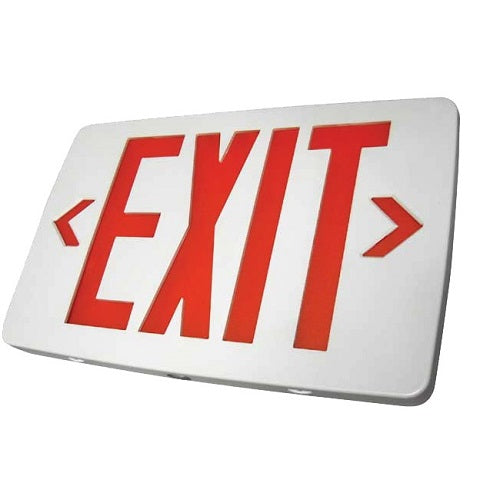 Exit Sign LED - Thin Thermoplastic