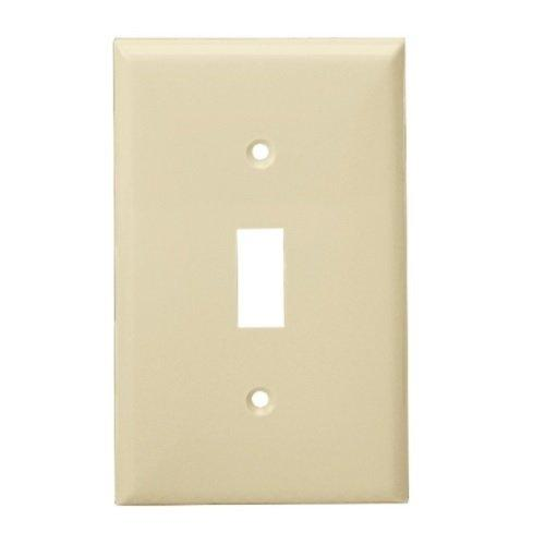 Enerlites Residential Grade, Over-Sized 1-Gang Toggle Switch Plate