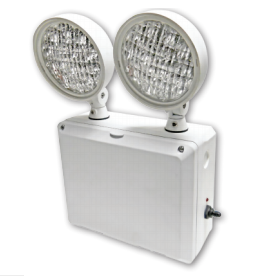 Best Lighting Wet Location Emergency Light - White (LEDTFX-2)