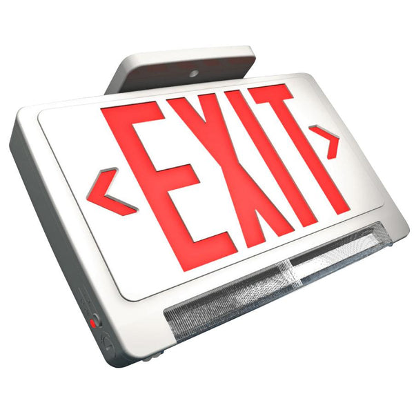 Exit and Emergency Combination - Light Pipe