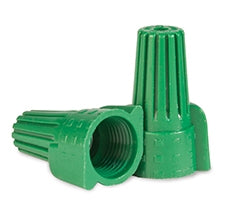 Winged Green Wire Connectors - 500 Pieces