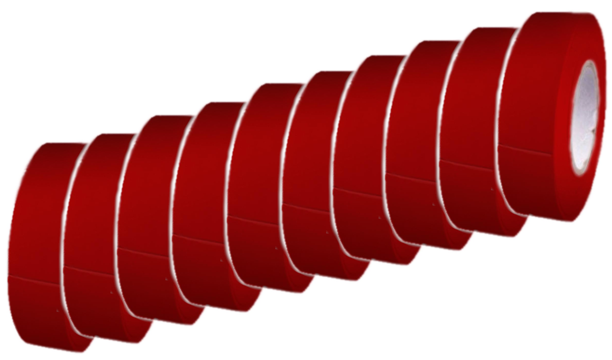 Red Electrical Tape [10]