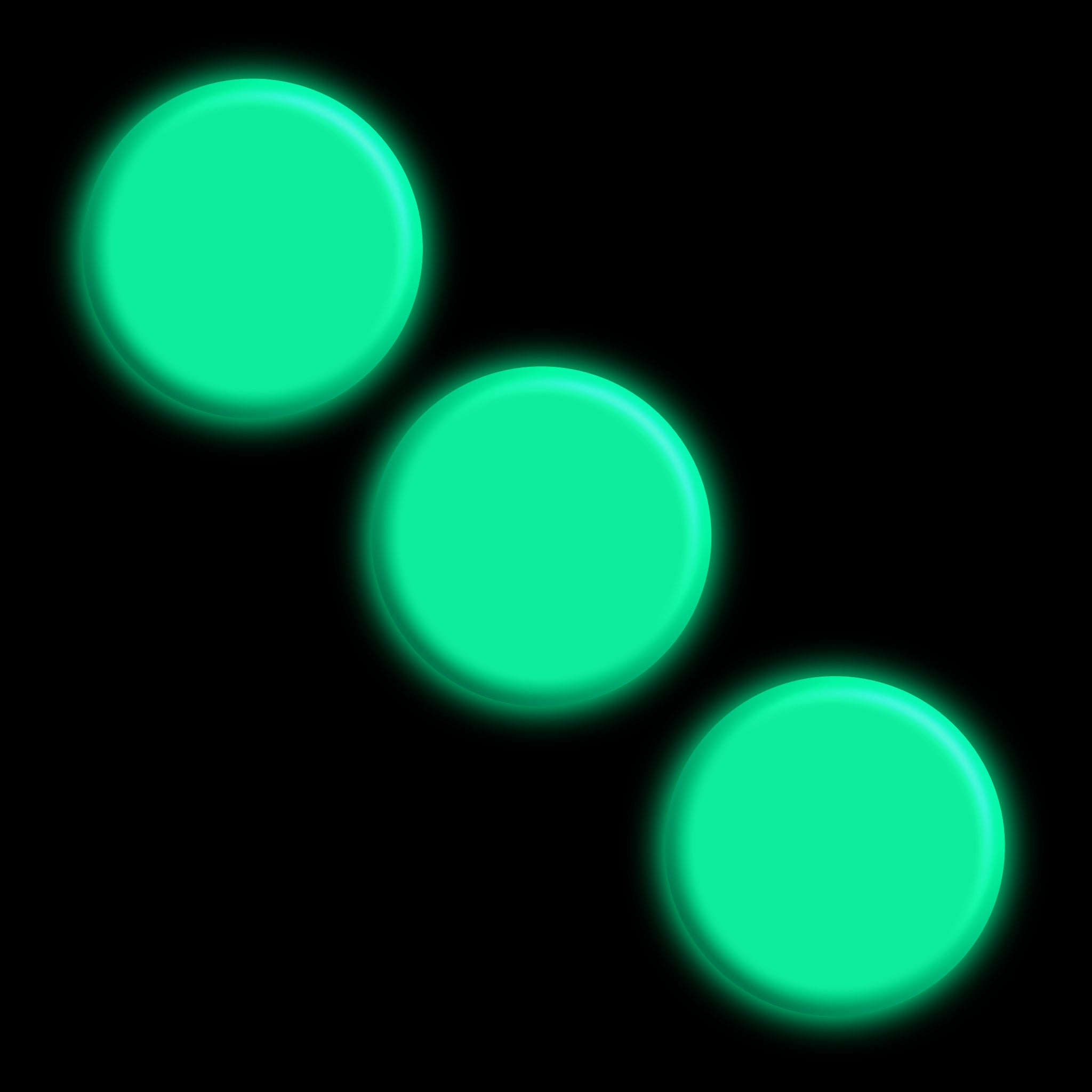 glow in the dark spots GIDS