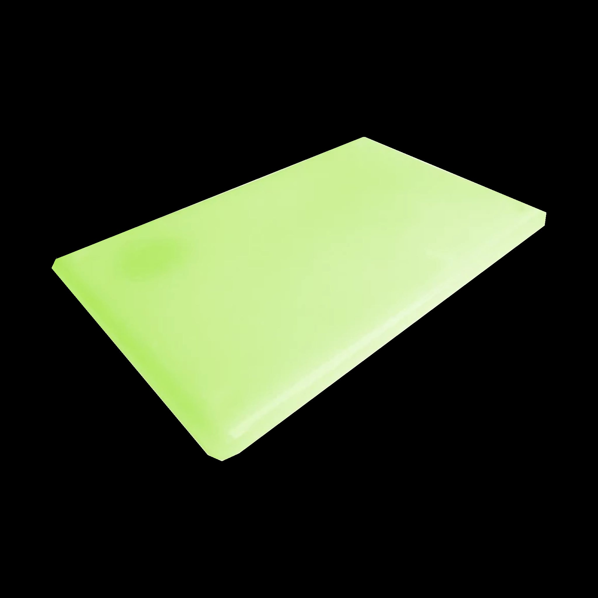 Glow in the Dark UV Rechargeable Epoxy Resin Mat (Matlite)
