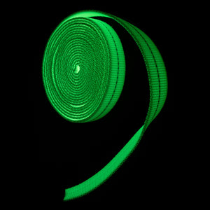 glow in the dark nylon webbing durable
