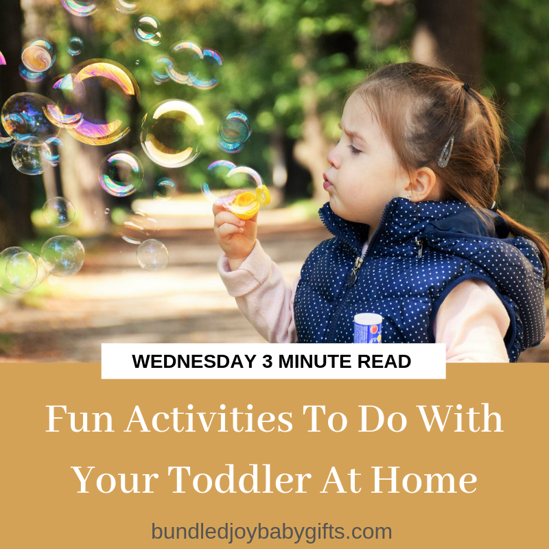 Fun Activities To Do With Your Toddler At Home