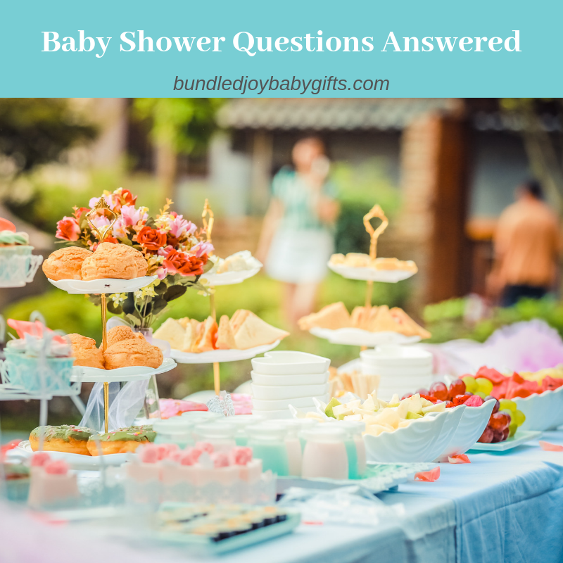 Baby Shower Questions Answered
