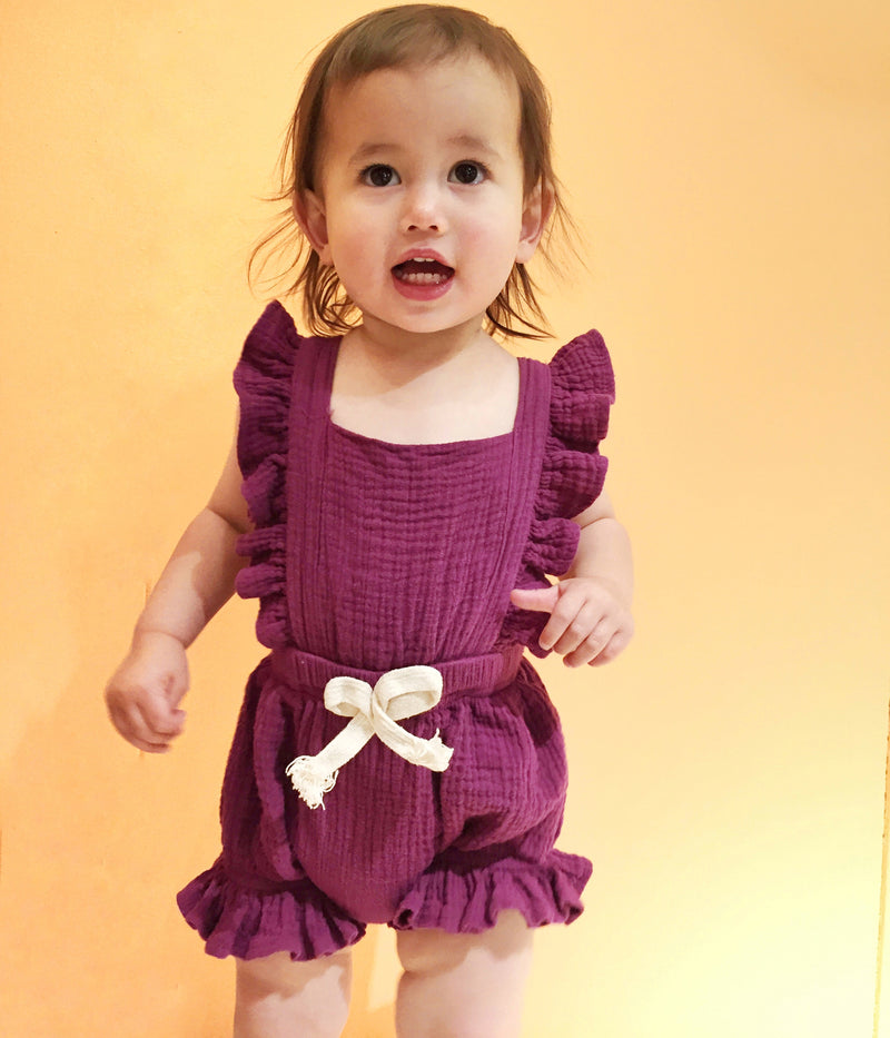 Baby Girl Ruffle Romper - 2 Colors