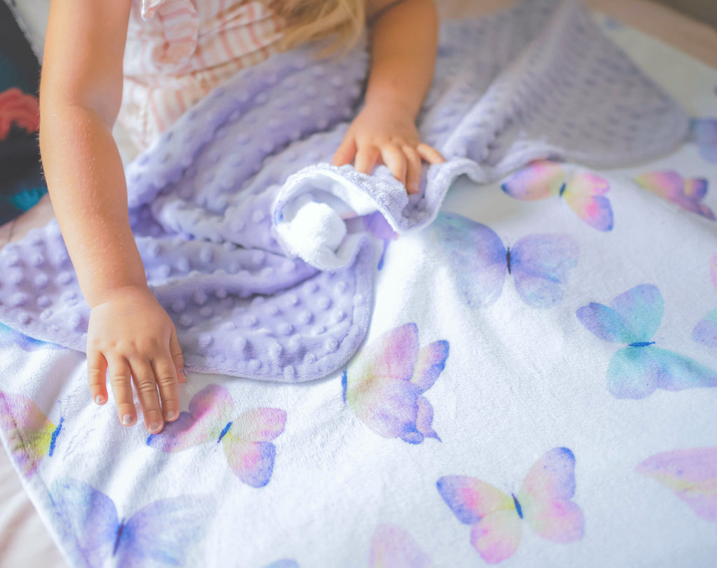 Premium Baby & Toddler Blanket - Butterfly
