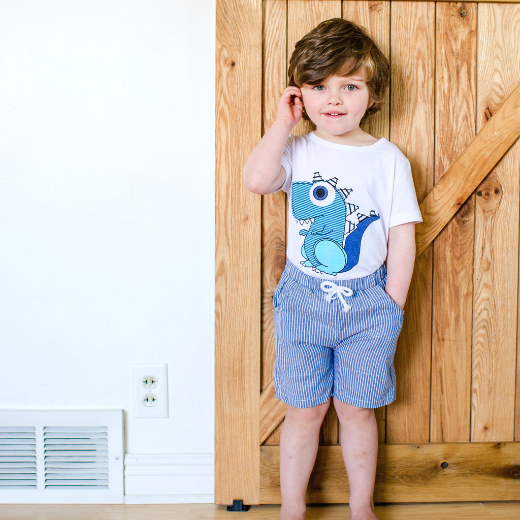 Toddler Dinosaur Summer Outfit