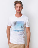 Beachstand Crew Neck Tshirt