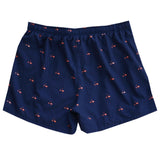Flamigo Navy Long Sport Boardshort