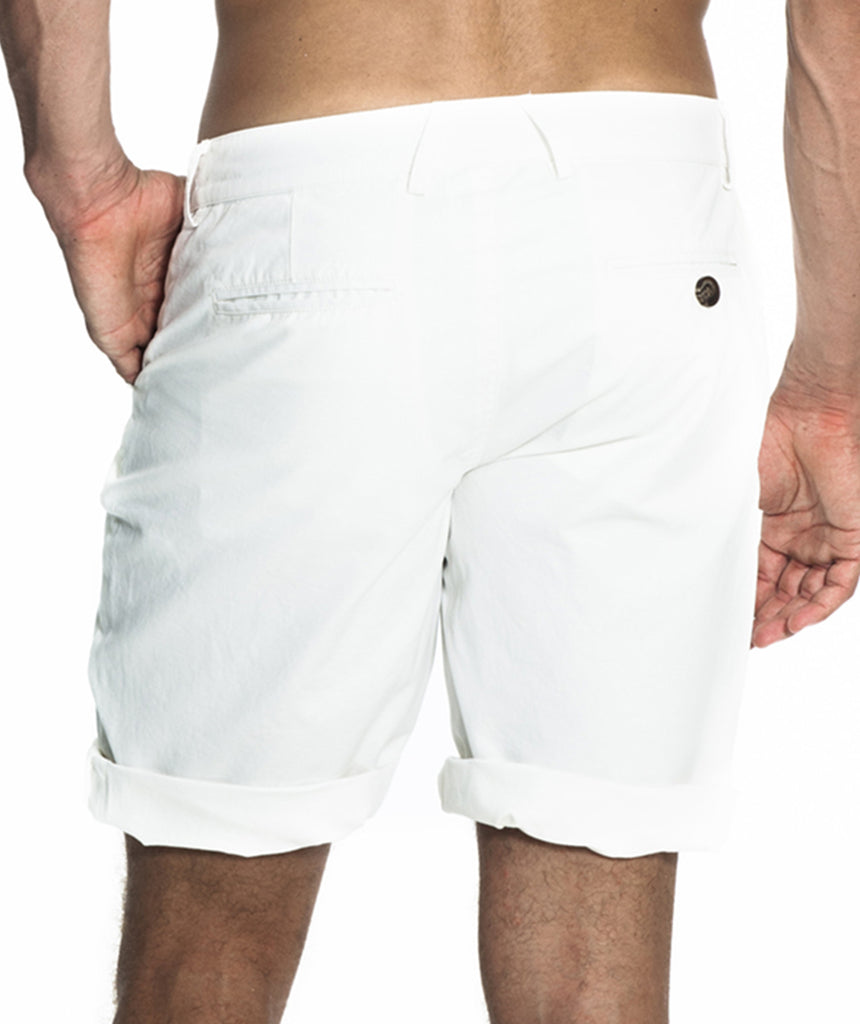 Miami white summer shorts