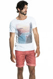 Bondi Sunrise Box Cut Organic T-shirt