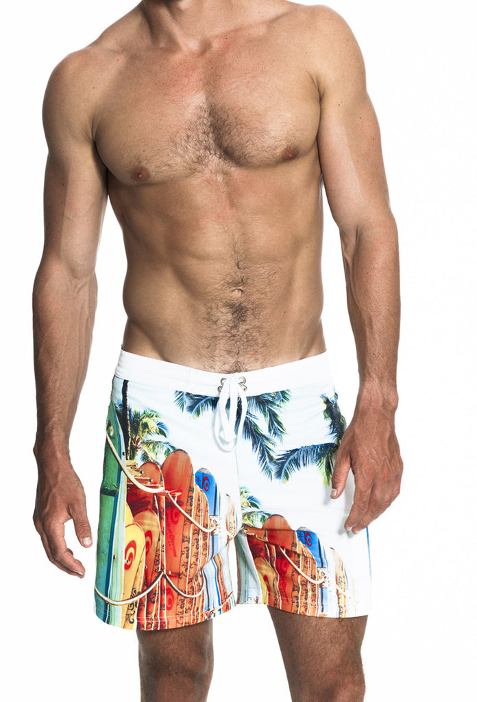Waikiki Mid-Length Pocket Boardshorts