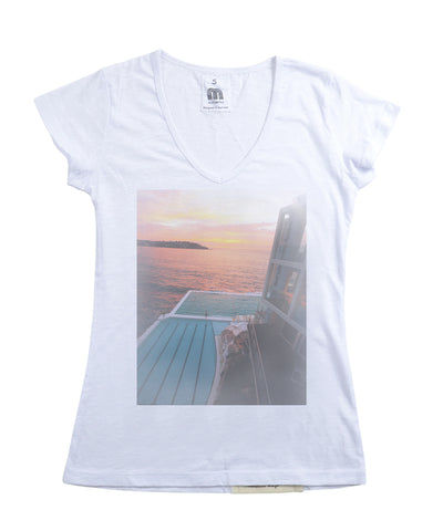Womens Bondi Sunrise Tshirt