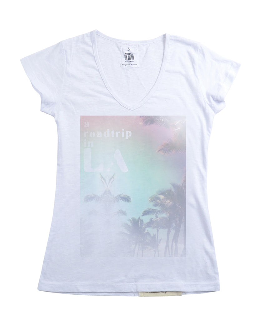Womens LA Roadtrip Tshirt