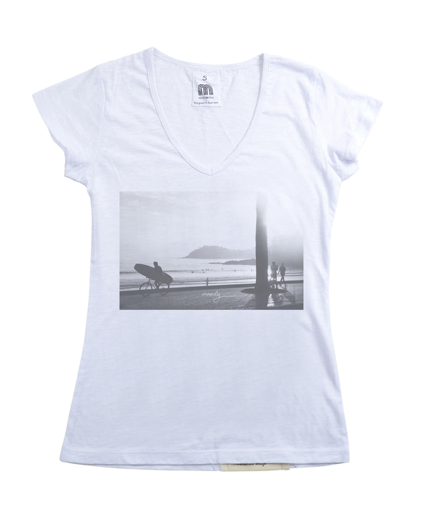 Womens Manly Tshirt