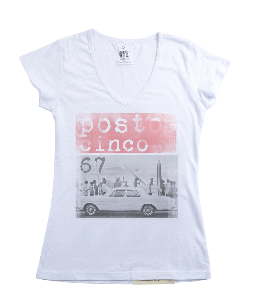 Womens Posto Cinco Tshirt