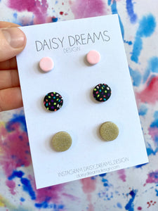 Polymer Clay Stud Pack
