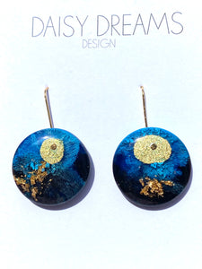 Resin and Ink Mini Drop Hoops