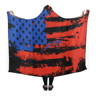USA - Hooded Blanket