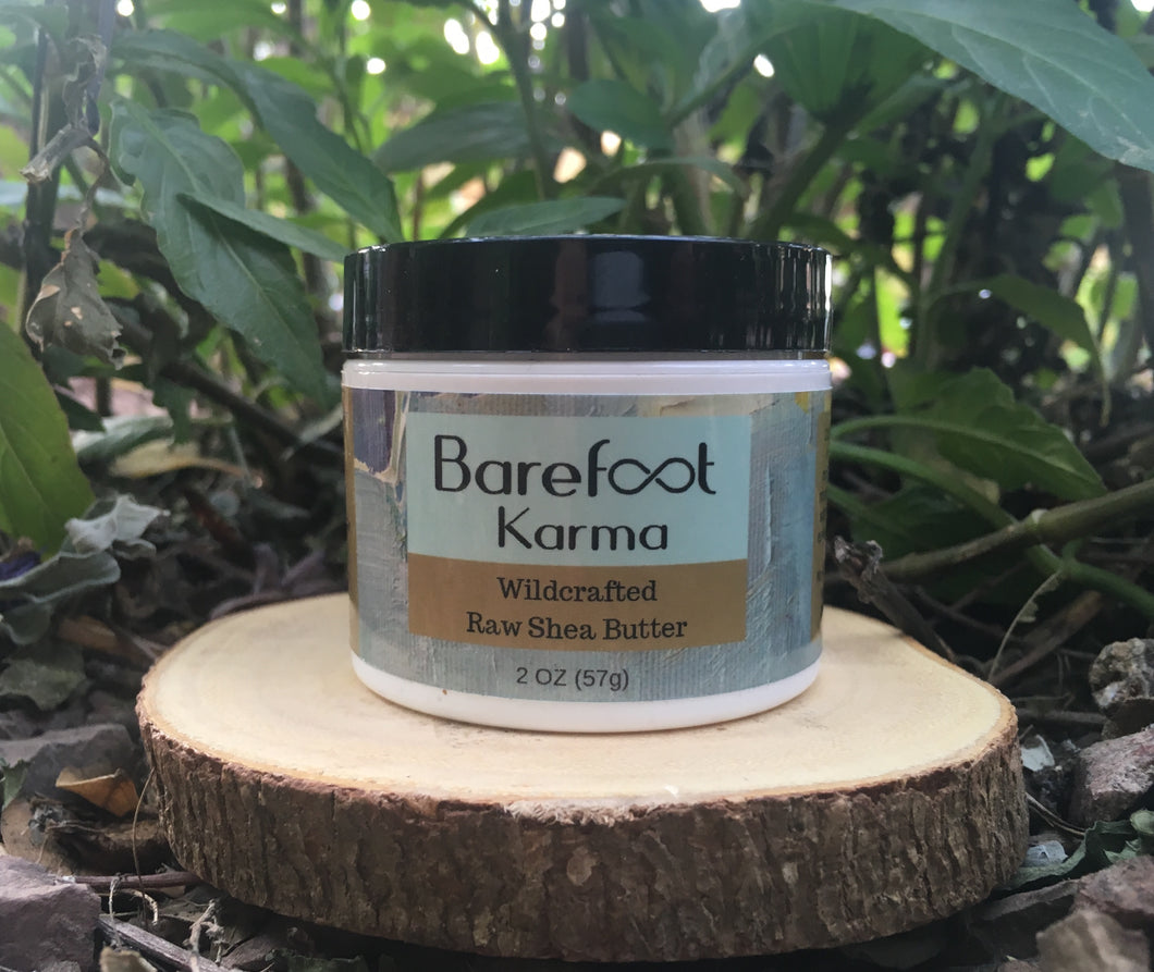 Wildcrafted Raw Shea Butter