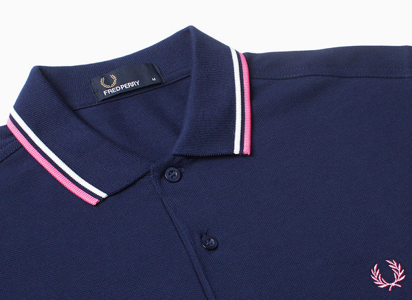 THE FRED PERRY TWIN TIPPED SHIRT