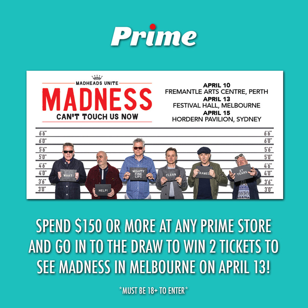 MADNESS GIVEAWAY EXTENDED!