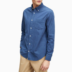 NN07 5029 Levon Shirt - Washed Navy
