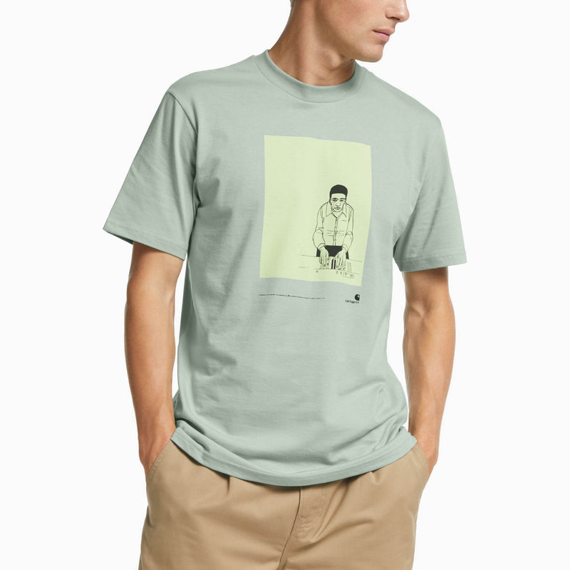 Carhartt S/S 1999 Ad Evan Hecox T-Shirt - Frosted Green