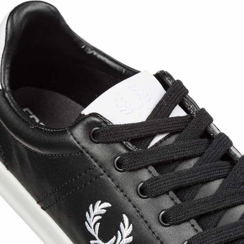 Fred Perry B721 Vulc Leather - Black - A19B7125-102