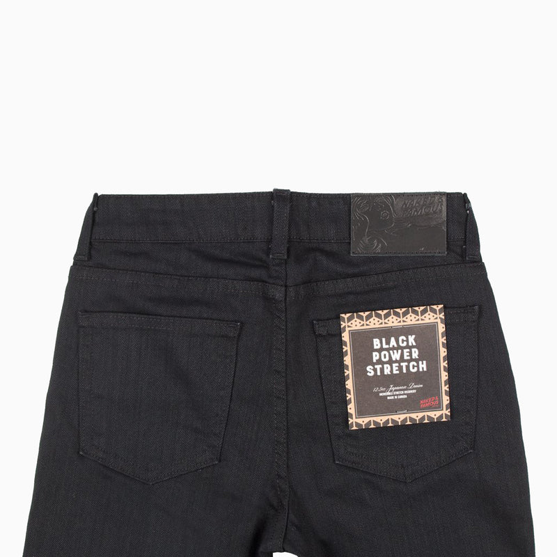 Naked & Famous Women's The High Skinny Black Power Stretch