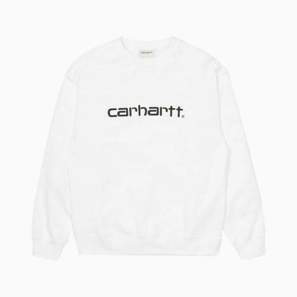 Carhartt Women's Sweatshirt - White/Black