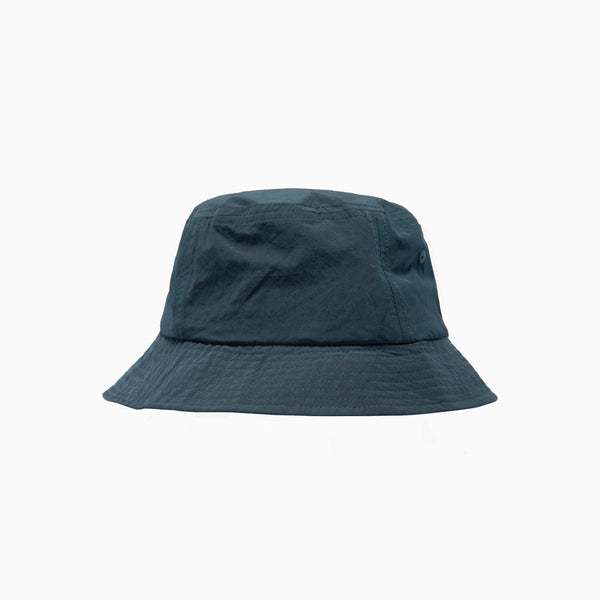 Wood Wood Nylon Bucket Hat - Dark Green