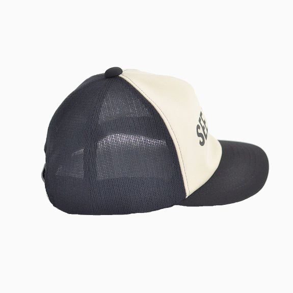Jackman Mesh Baseball Cap - 97/ Black/ Cream