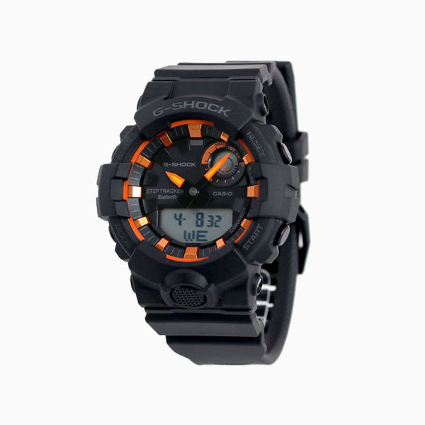 G-Shock Bluetooth Step - Black Face/Orange/Black