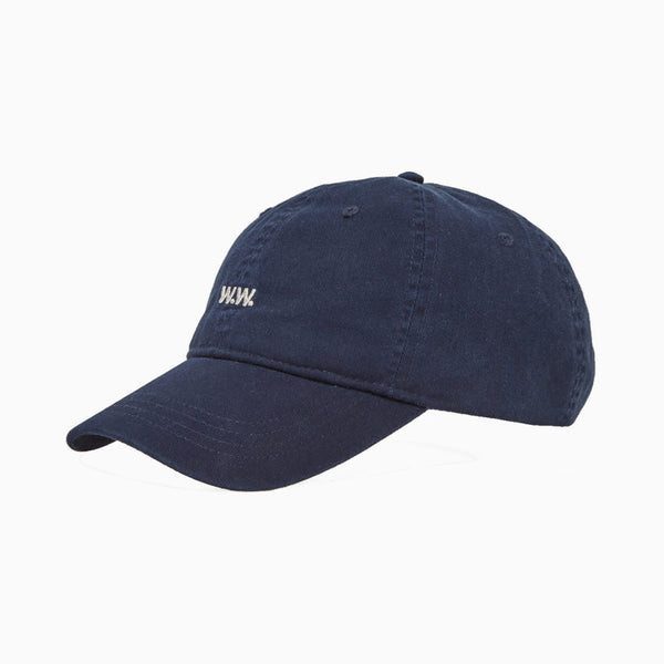 Wood Wood Low Profile Cap - Navy